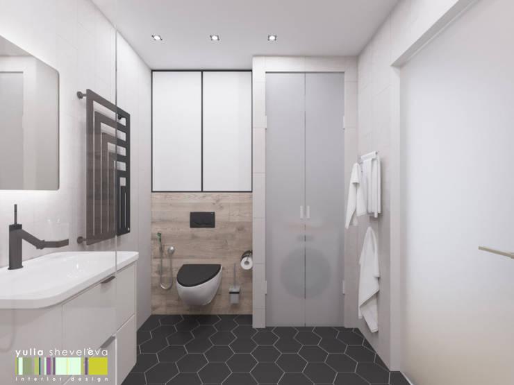 Быть в теме: Ванные комнаты в . Автор – Мастерская интерьера Юлии Шевелевой