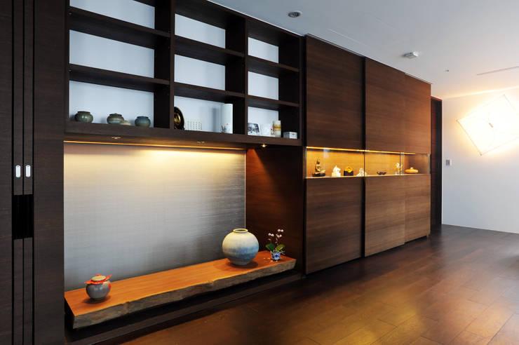 室內設計 怡和 YC House:  書房/辦公室 by 黃耀德建築師事務所  Adermark Design Studio