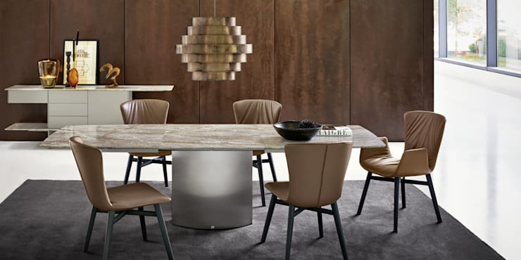 Adler Extendable Table:  Dining room by IQ Furniture