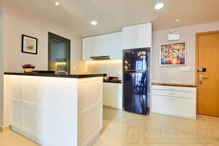 Căn hộ Masteri:  Nhà bếp by Archifix Design