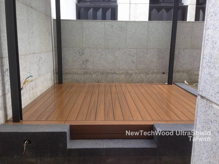 吉美一品花園-地板工程:  露臺 by 新綠境實業有限公司