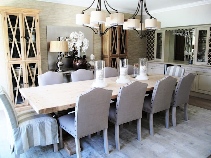 Dainfern:  Dining room by ByDezign Interiors