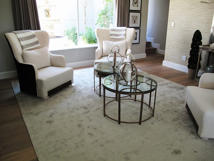 Dainfern:  Living room by ByDezign Interiors