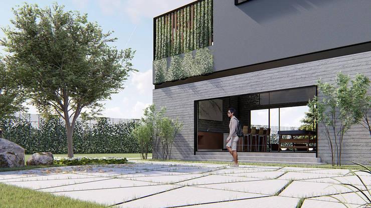 Patio:  de estilo  por Grupo PAAR Arquitectos