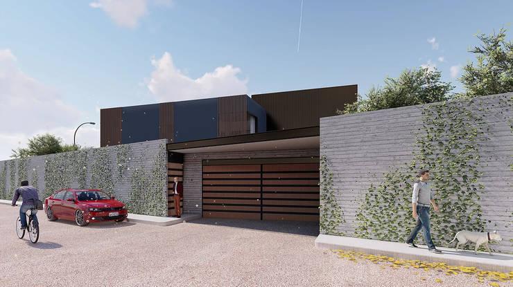 Cochera:  de estilo  por Grupo PAAR Arquitectos