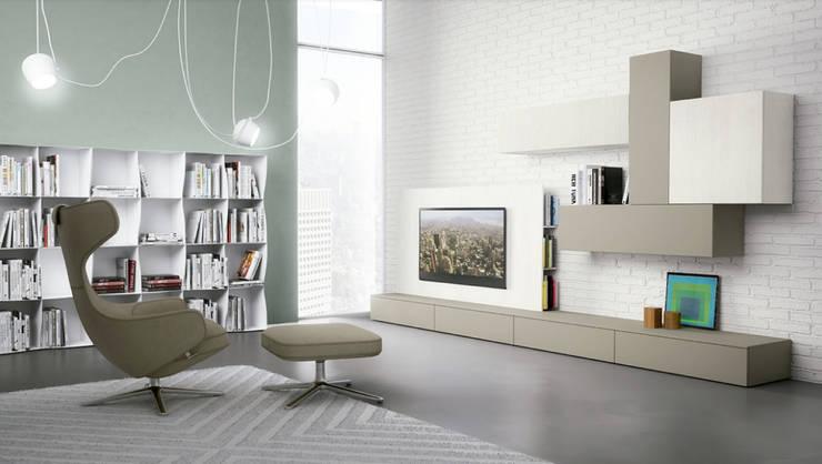 Salas de Estar: Salas de estilo  por BMAA