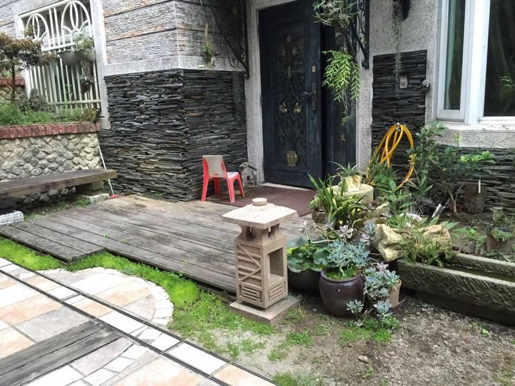 楊梅區—戶外地板鋪設工程:   by 新綠境實業有限公司
