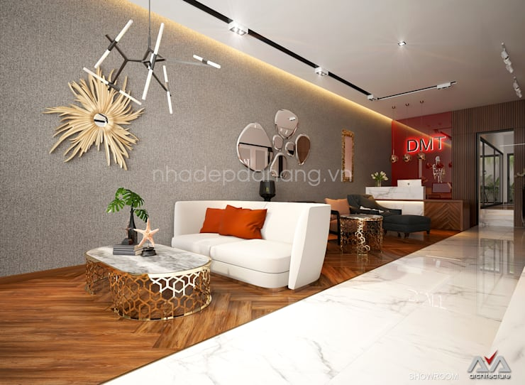 Salas de estar  por AVA Architecture, Moderno