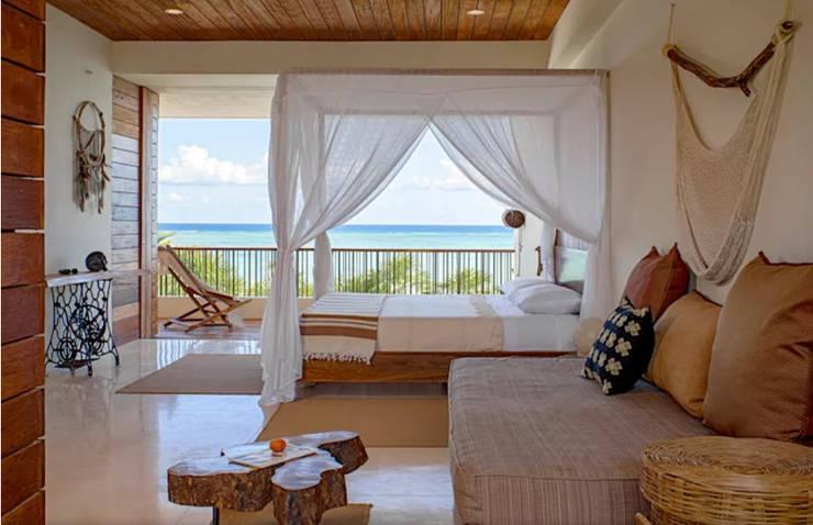 : asiatische Schlafzimmer von Công ty thiết kế xây dựng Song Phát