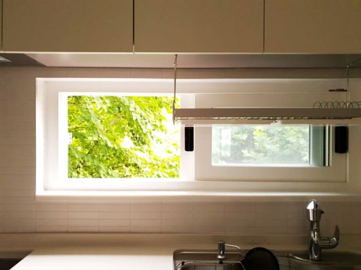 수서삼성아파트 32평: 디자인모리의  창문,모던