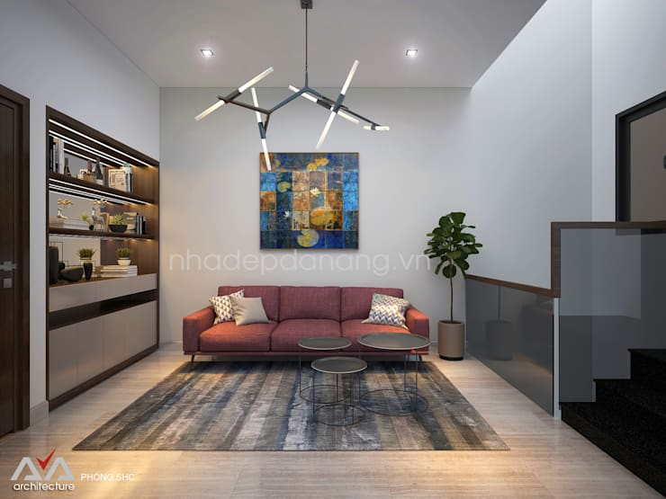 Media room by AVA Architecture