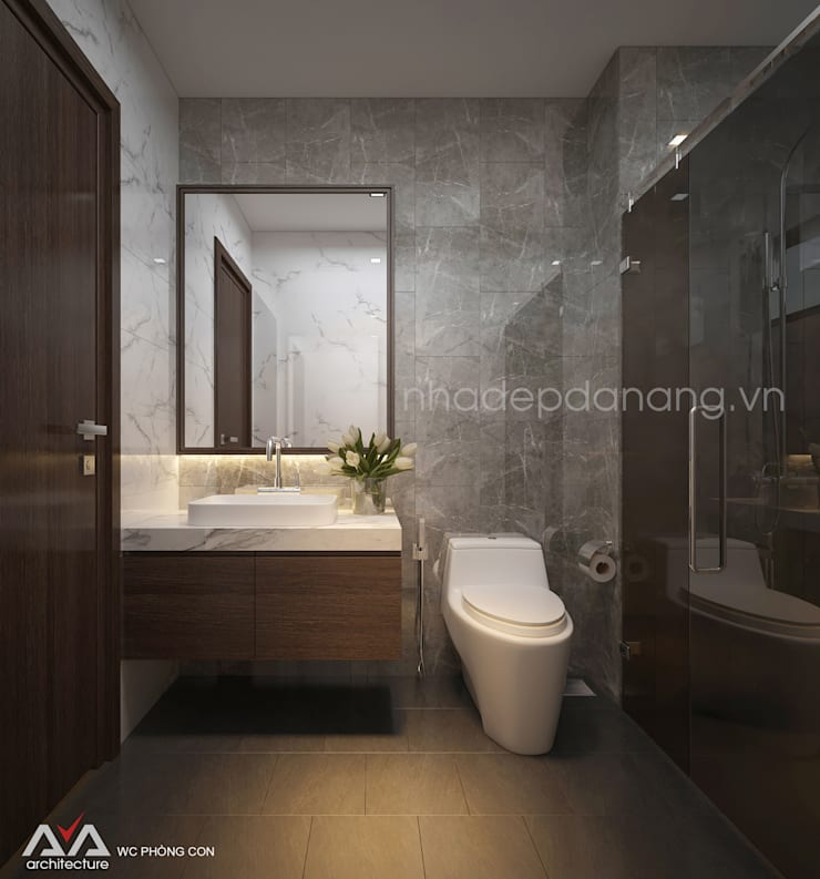 Bathroom by AVA Architecture