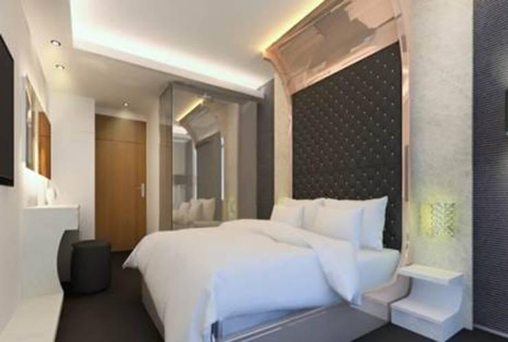克勒維斯精品酒店:  飯店 by 司創仁和匯鉅設計有限公司