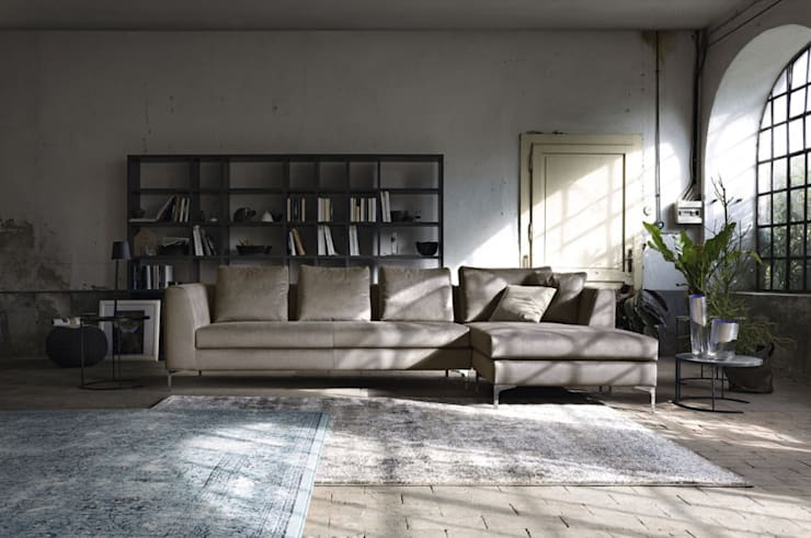 Sofás línea Loft: Salas de estilo  por BMAA