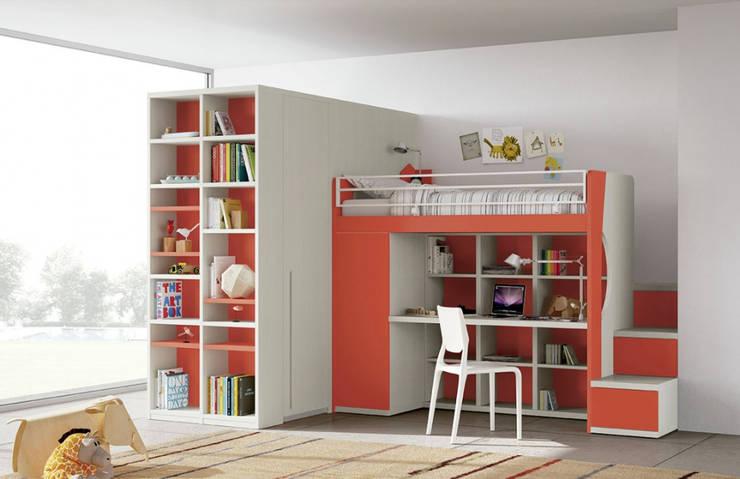 Mobiliario para dormitorios: Habitaciones infantiles de estilo  por BMAA