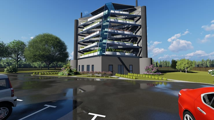 Vertical Farming In the Western Cape:  Commercial Spaces by A&L 3D Specialists
