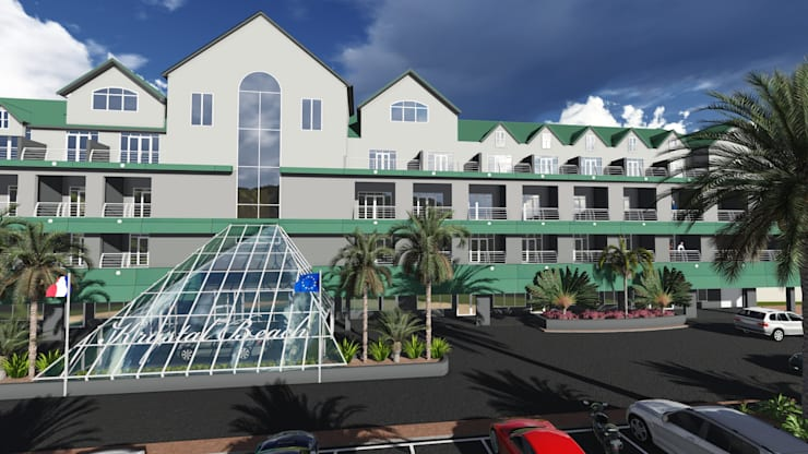 Kristal Beach Hotel upgrade Cape Town:  Hotels by A&L 3D Specialists