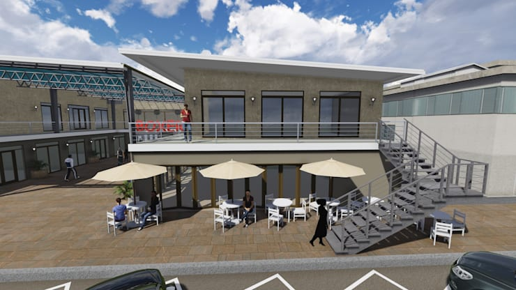 Boxer Group Kokstad:  Commercial Spaces by A&L 3D Specialists