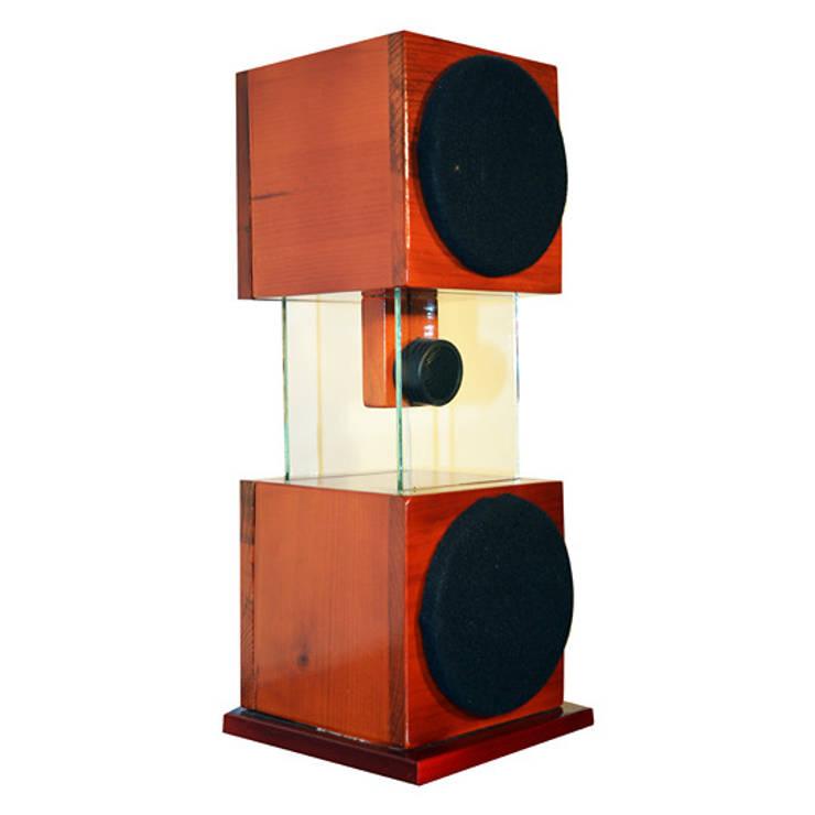 Flotante: Ref. SPTS-2-FE: Hogar de estilo  por Design Hifi Sound
