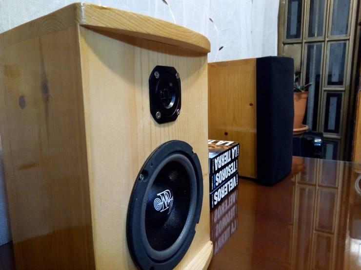 Trapez: el verdadero sonido hifi: Hogar de estilo  por Design Hifi Sound