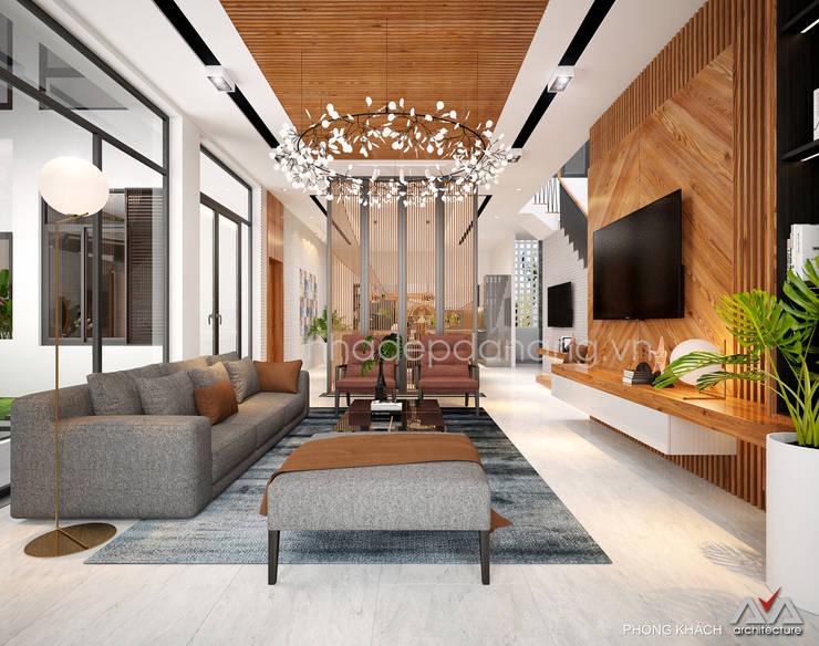 Wohnzimmer von AVA Architecture