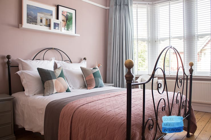 Bedroom by Louise Misell Interiors, Modern