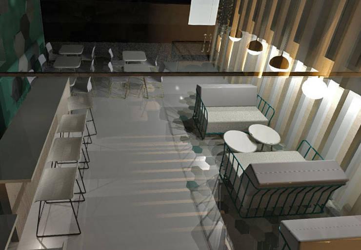 MALDITO BAR: Bares y Clubs de estilo  por Granada Design,Moderno