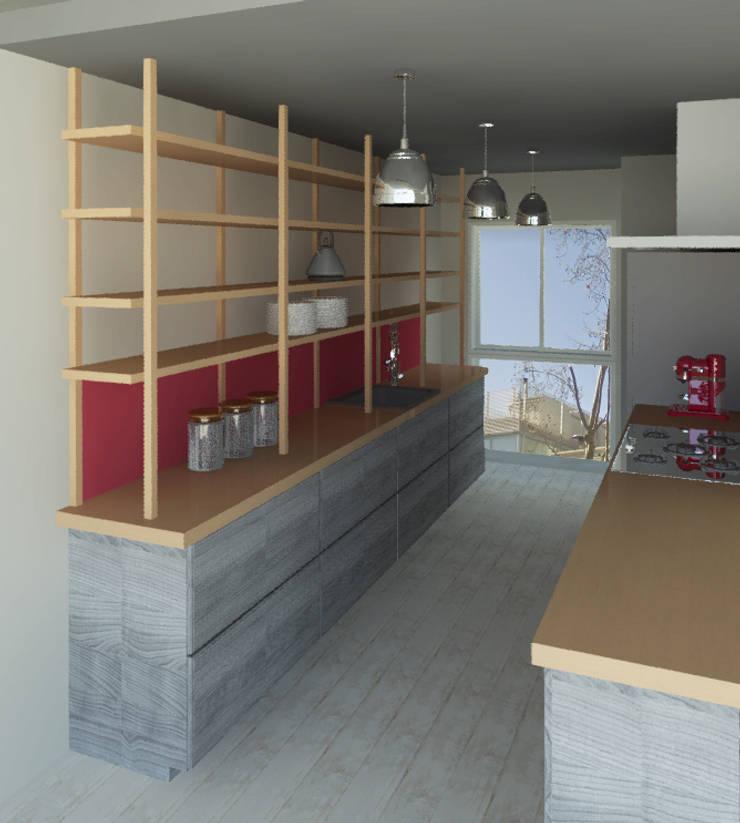 Kitchen by Granada Design, Modern