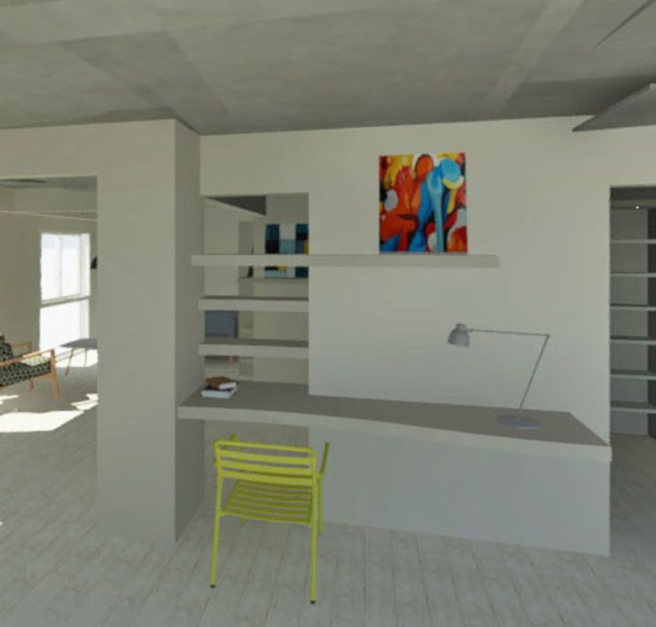 Study/office by Granada Design, Modern