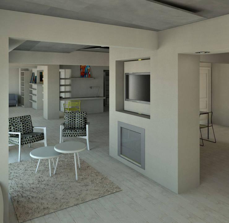 Living room by Granada Design, Modern