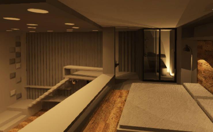 LOFT: Dormitorios de estilo  por Granada Design