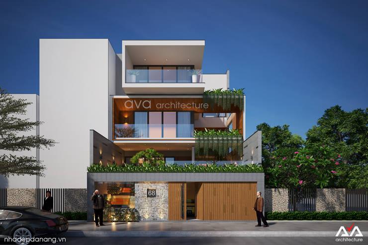Thiết kế biệt thự sân vườn:  Nhà by AVA Architecture