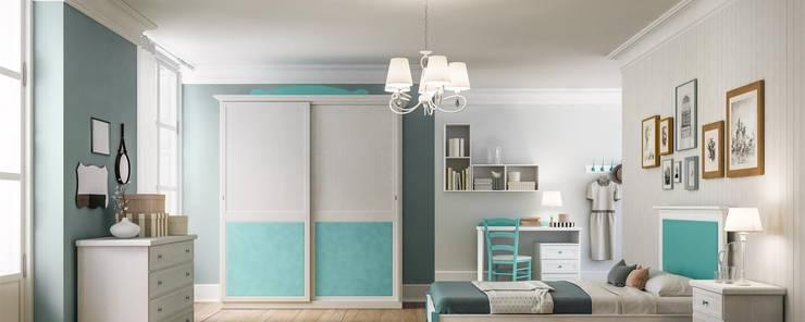 Collezione Jo : Camera da letto in stile  di Ferrari Arredo & Design