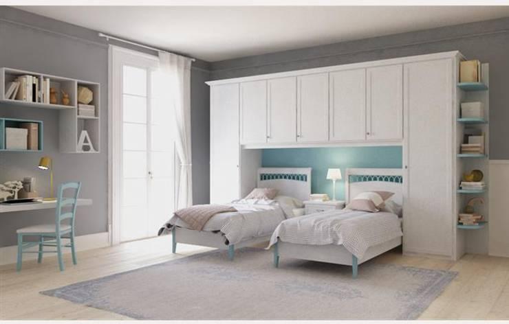 Collezione JO: Camera da letto in stile in stile Classico di Ferrari Arredo & Design
