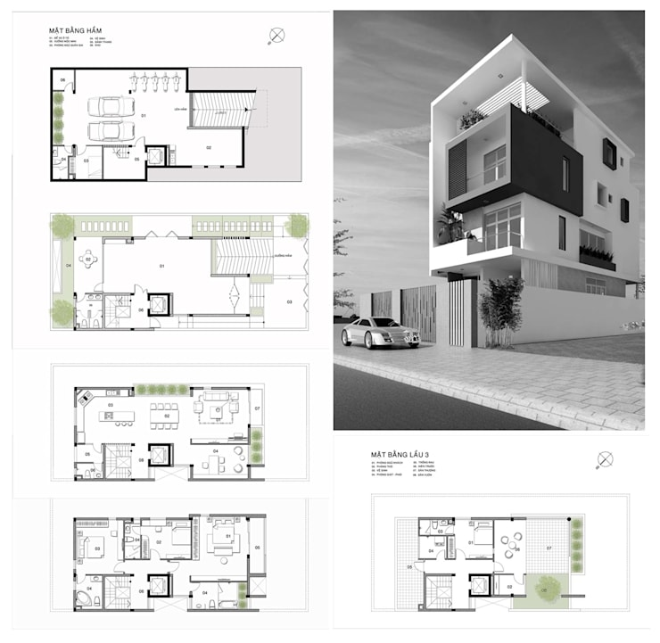 nhà phố tấm:  Windows & doors  by CÔNG TY THIẾT KẾ NHÀ ĐẸP SANG TRỌNG