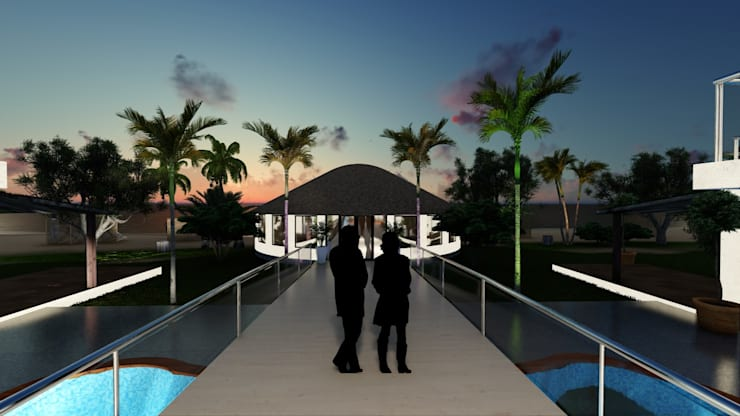 Hotel Kribi Camaroon Africa:   by A&L 3D Specialists