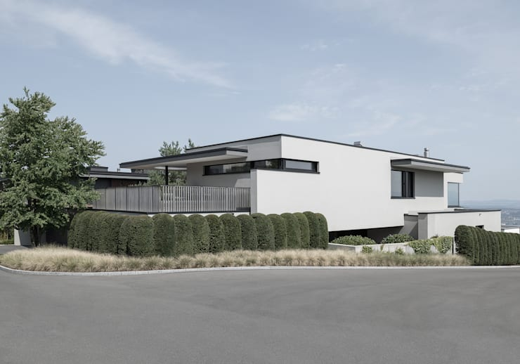 Casas unifamilares de estilo  de meier architekten zürich, Moderno