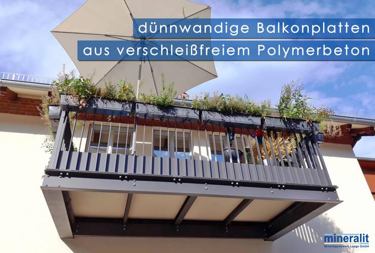 Moderne Terrassenplatten Und Balkon Bodenbelage Von Mineralit