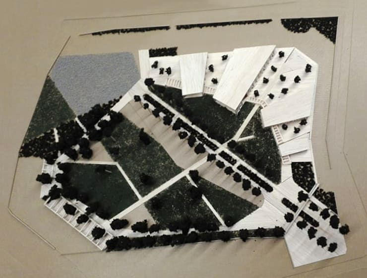 Maqueta :  de estilo  por LEON CAMPINO ARQUITECTURA SPA