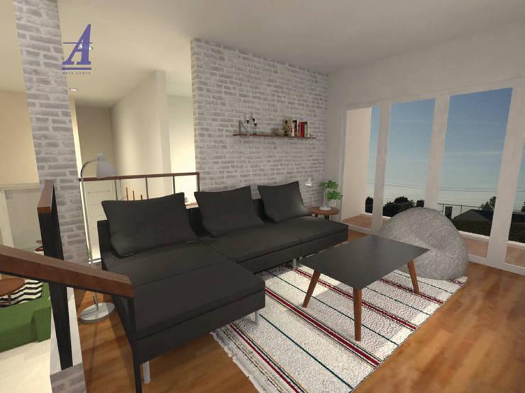 GRAND WISATA - BEKASI, INDONESIA:  Living room by Asta Karya Studio