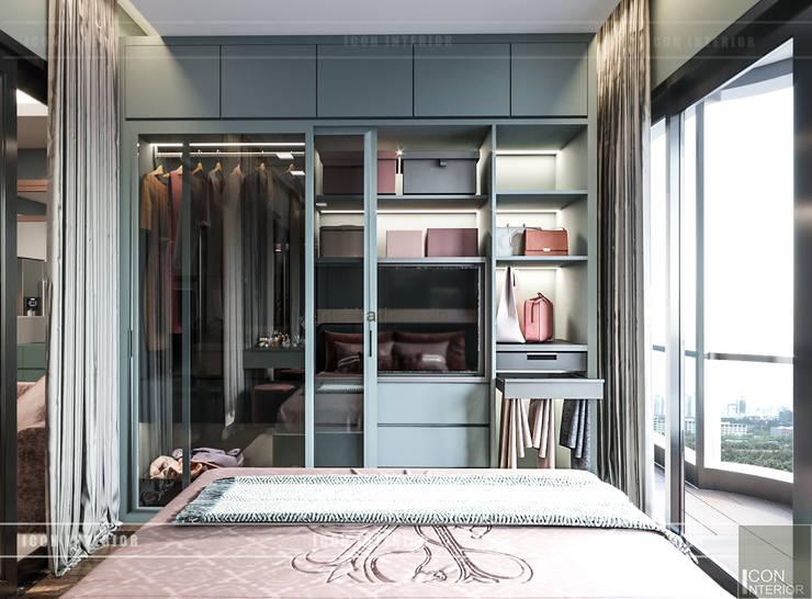 Đẹp Khác Biệt với Thiết kế căn hộ Landmark 81 của ICON INTERIOR:  Phòng ngủ by ICON INTERIOR