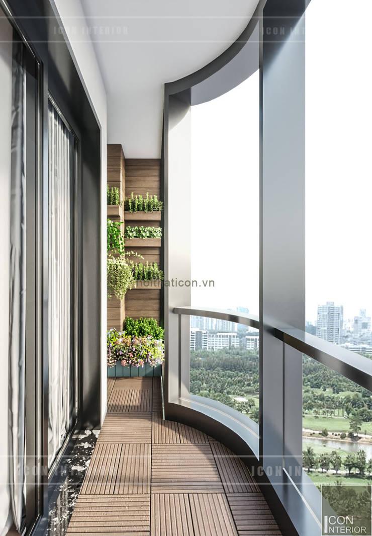 Đẹp Khác Biệt với Thiết kế căn hộ Landmark 81 của ICON INTERIOR:  Hành lang by ICON INTERIOR