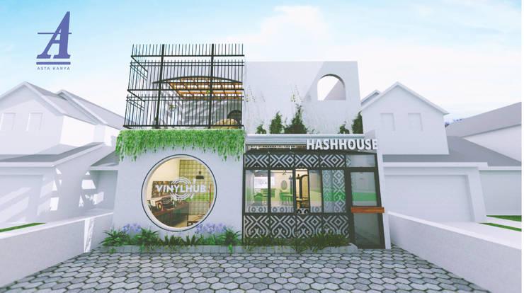 HASH HOUSE - YOGYAKARTA, INDONESIA:  Restoran by Asta Karya Studio