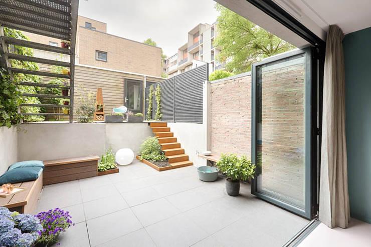 Garten von StrandNL architectuur en interieur, Modern