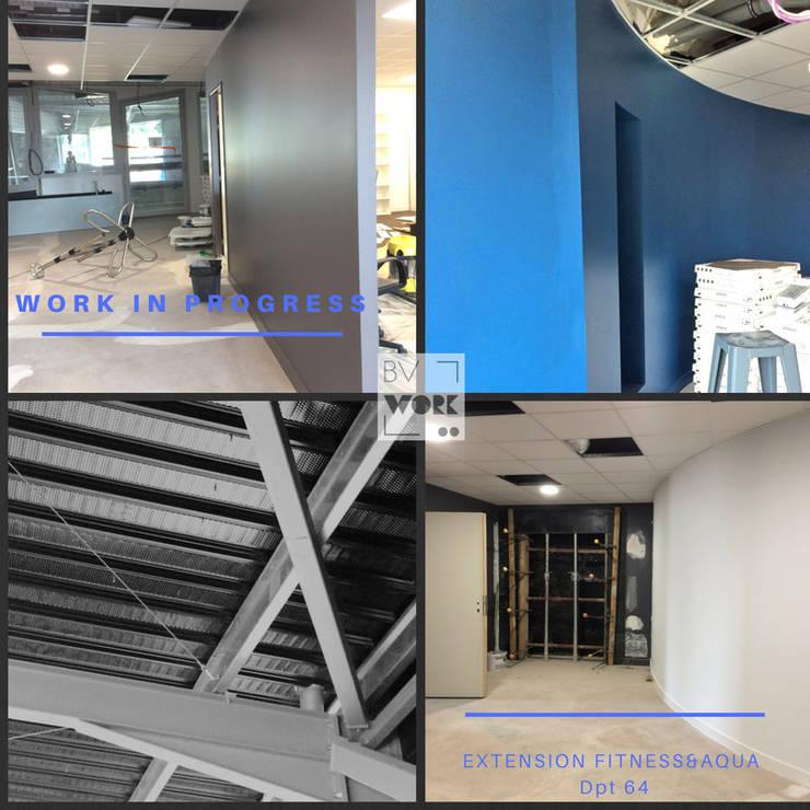 travaux  en cours: Locaux commerciaux & Magasins de style  par VALERIE BARTHE AiC