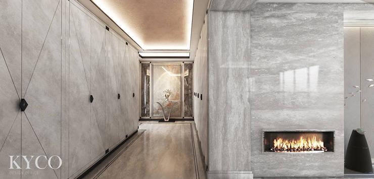 玄關:  走廊 & 玄關 by 芮晟設計事務所