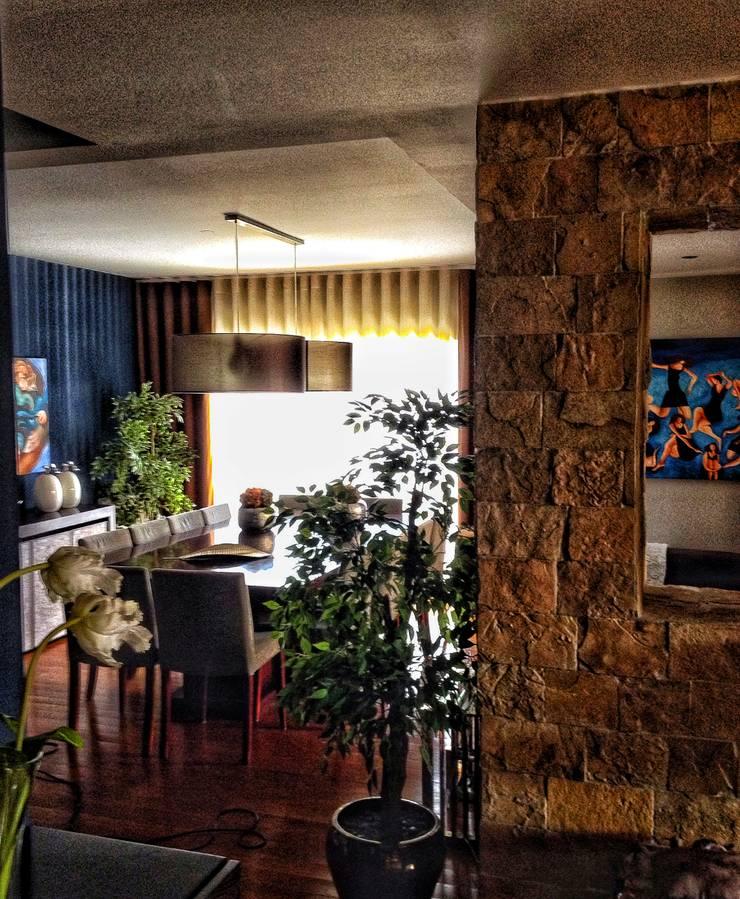 Living Home: Salas de jantar  por Andreia Abrantes