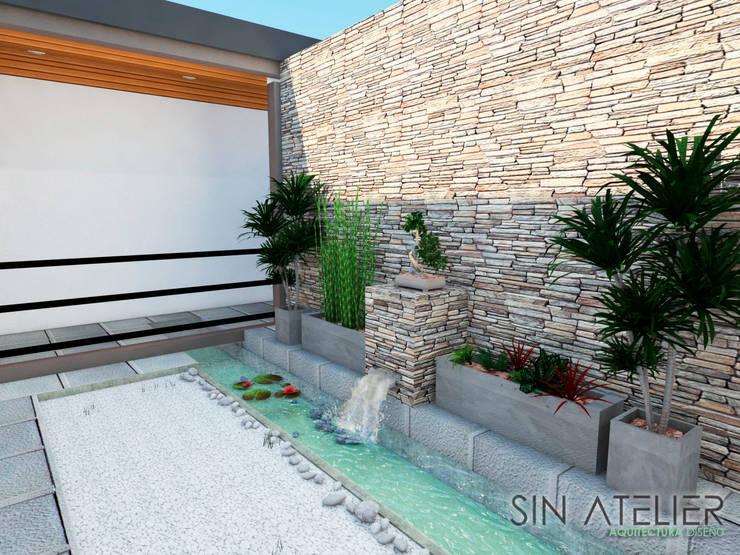 Vivienda de Campo Gutierrez :  de estilo  por Sin Atelier - Arquitectura y Diseño