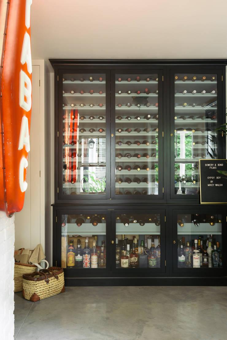 Wine cellar by deVOL Kitchens