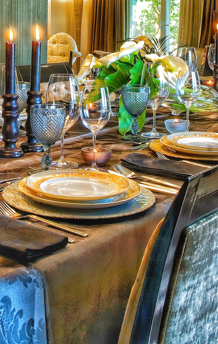 Projects Details: Salas de jantar  por Andreia Abrantes